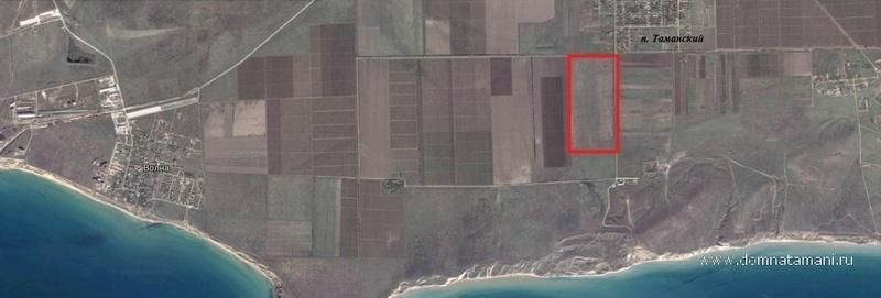 Продам участок по адресу Россия, Краснодарский край, Темрюкский район, Таманский, Морская ул. фото 1 по выгодной цене